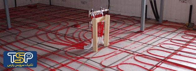 سیستم گرمایشی از کف