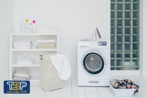 علت سر و صدای ماشین لباسشویی