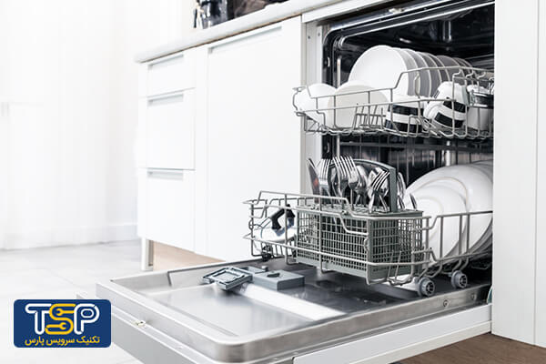 دلایل تمیز نشستن ماشین ظرفشویی