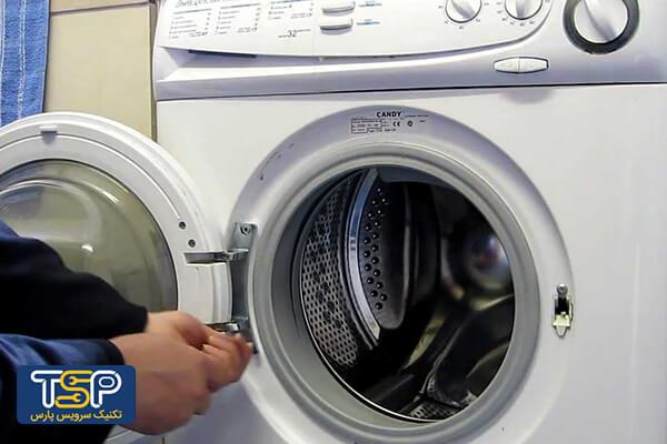 باز کردن المنت گرمایی لباسشویی