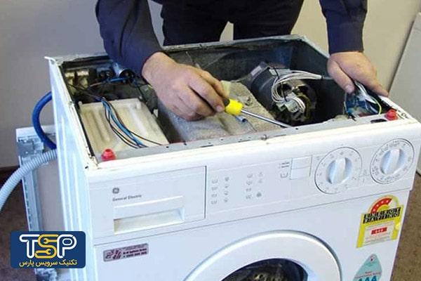 ماشین ظرفشویی ال جی آب را تخلیه نمی کند